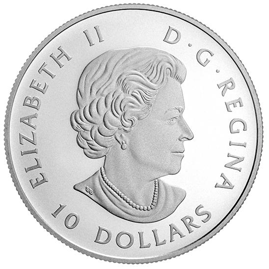 Серебряная монета с собакой в подарок дата создания евро