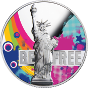 Be Free Silver Coin 2018