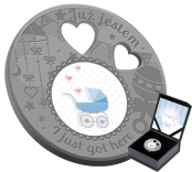 I Just Got Here! Silver Coin 2019 Best Gift to Newborn
